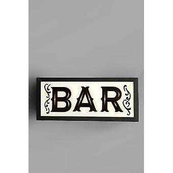 Bar-Box montiert Lichtwand Display Dekoration Zeichen