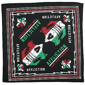 Affliction Adult Unisex Team Cain Velasquez Revolutionary Bandana - Black