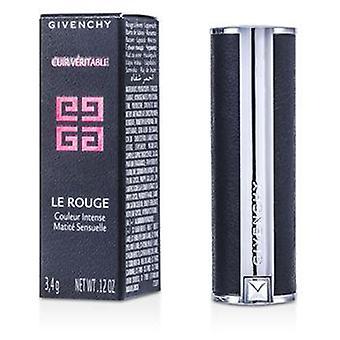 Givenchy Le Rouge Intense Color Sensuously Mat Lipstick - # 105 Brun Vintage - 3.4g/0.12oz