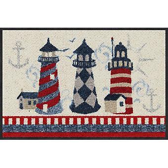 Salon lion doormat Faro lighthouse of washable door rug runner