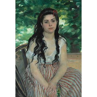 In Summer, Pierre-Auguste Renoir, 60x40cm
