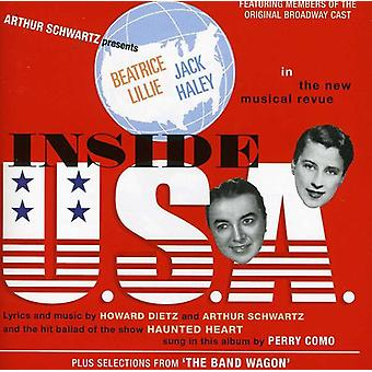 Broadway Cast - Inside U.S.a. / the Band Wagon [CD] USA import