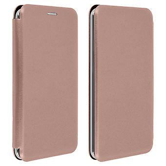 Smartphone case 5, 4 à 6 ' 'Universal Card support fonction or rose