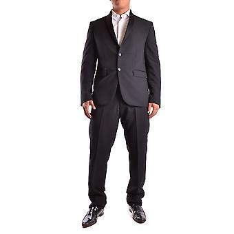 Marciano Ezbc318002 Men's Black Polyester Suit