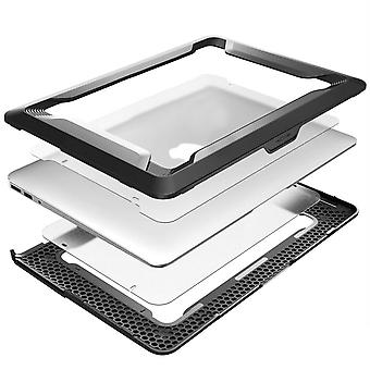 13 '' MacBook Air Hard Protective Cover i-Blason Black and White