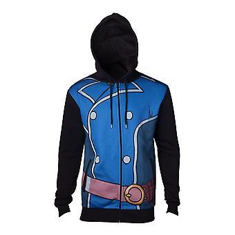 Ni No Kuni 2 Unisex Roland Suit Full Length Zipped Hoodie Large Multi-colour
