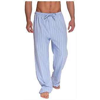 British boxers Westwood duas vezes flanela pijama calças-azul