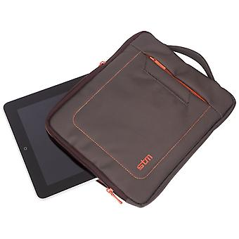 "STM Jacket 10"" Tablet Sleeve (Chocolate/Orange)"