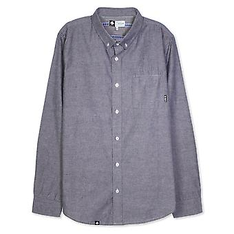 Lrg Zuma Long Sleeve Woven Shirt Navy