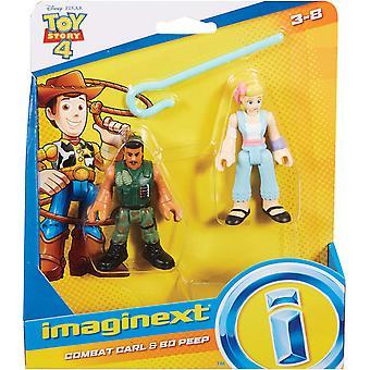 Imaginext Disney Toy Story GFD13 Little Bo Peep en Combat Carl
