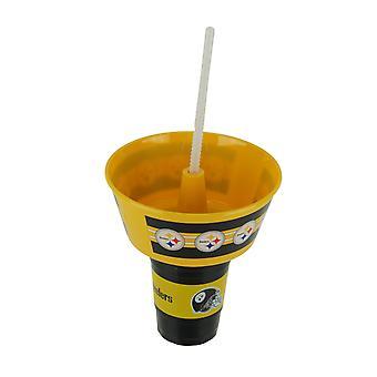 NFL Pittsburgh Steelers Kunststoff Grub Wanne und Tumbler