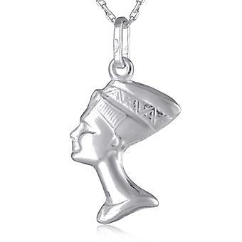 Rhodié Nefertiti Silver Pendant