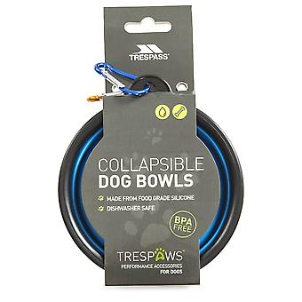 Trespass Sippy Collapsible Dog Bowl Set