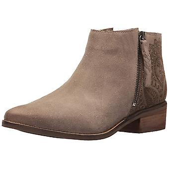 Naughty Monkey Womens Saint Elmos Leather Closed Toe Ankle Fashion Boots