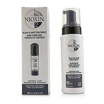 Nioxin Diametro Sistema 2 Scalp & Trattamento dei capelli (naturale capelli progressed diradamento) - 200ml/6.76oz