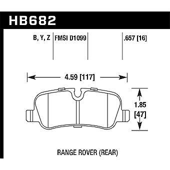 Hawk Performance HB682Y. 657 LTS