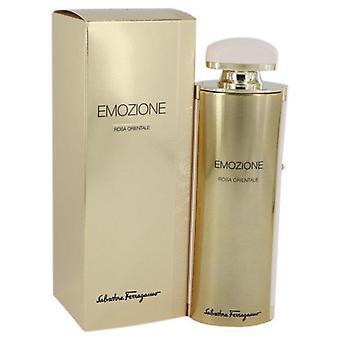 Emozione rosa orientale eau de parfum spray by salvatore ferragamo 541629 92 ml