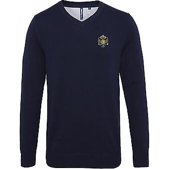 Première Queens Dragoon Guards QDG - Licensed British Army Embroidered Jumper