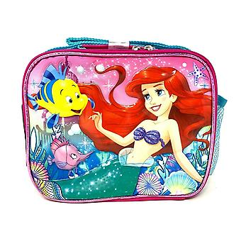 Lunch Bag - Disney - The Little Mermaid - Ariel Blue & Pink New 000741