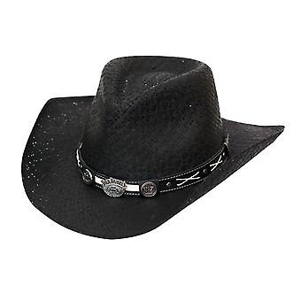 Sombrero de paja vaquero Jack Daniels