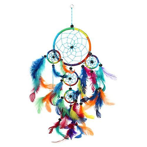 Multi Coloured Dream Catcher 5 Ring