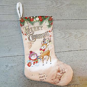 Joulu sukat joulu sukat-lumi ukko ja poro