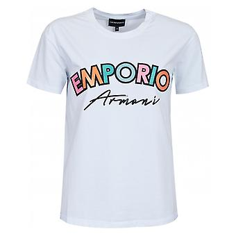 Emporio Armani Sparkle Logo Tshirt