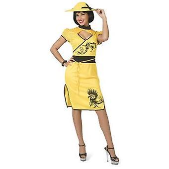 Kinesiska kvinnors kostym Kina Peking karneval asiatiska karneval kostym damer