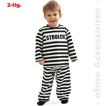 Convict costume Kanchanaphet children of prisoner little tramp child costume