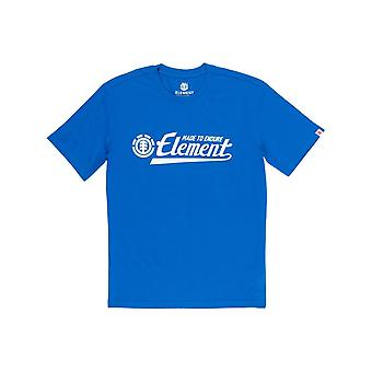 Element Signature Short Sleeve T-Shirt in Nautical Blue