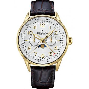 Delbana - Watch - Men - Classic Collection - 42601.646.6.064 - Retro Moonphase