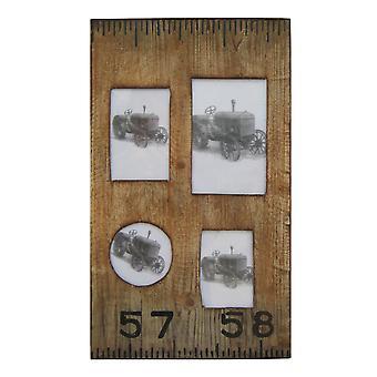 "1"" x 19"" x 1"" Brown Wooden  Photo Frame"