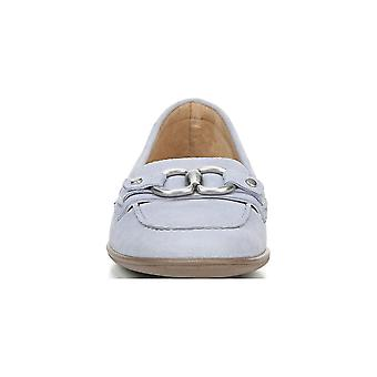 Naturalizer Womens Ainsley Leather Square Toe Loafers
