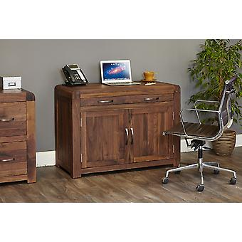 Shiro Walnut Hidden Home Office Brown - Baumhaus