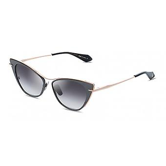 Dita Von Teese DTS522 01 Rose Gold-Black Ruthenium/Dark Grey Gradient Sunglasses