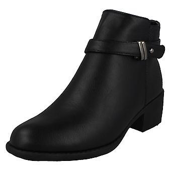 Kære plet på midten hæl ankelstøvler