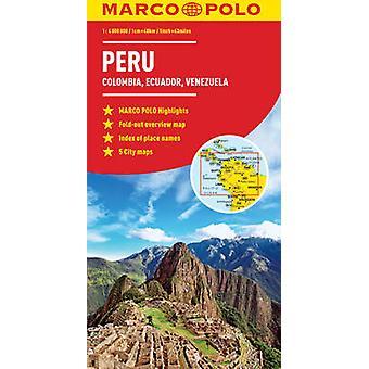 Peru Colombia Venezuela Map