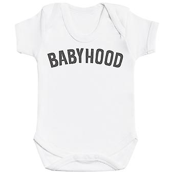 Motherhood And Babyhood - Matching Set - Baby Bodysuit & Mum T-Shirt