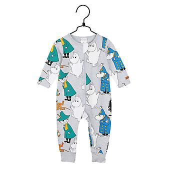 Moomin Scouts pyjama, grijs Martinex