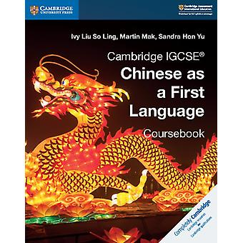 Cambridge IGCSE R Chinese as a First Language Coursebook