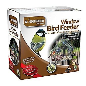 Kingfisher Window Glass Clear View Suction Bird Feeder