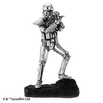 Star Wars By Royal Selangor 017918R Death Trooper Pewter Figurine