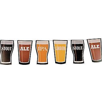 2,1 m Karton Bier & Lager Girlande Party Deko für Pubs & Bierfestivals
