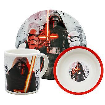 Star Wars hivatalos Force felébreszti Kylo ren kerámia edények beállítása