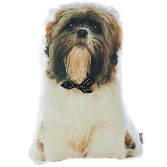 Shih Tzu Dog Shape Filled Pillow, Animal Shaped Pillow