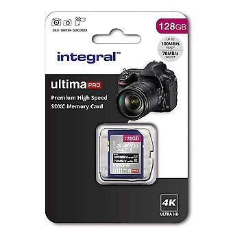 Αναπόσπαστο 128 GB Premium υψηλής ταχύτητας SD (SDXC) V30 UHS-I U3 κάρτα μνήμης
