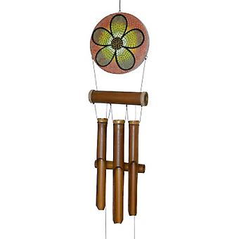 Abstract Flower Dots Harmony Wind Chime