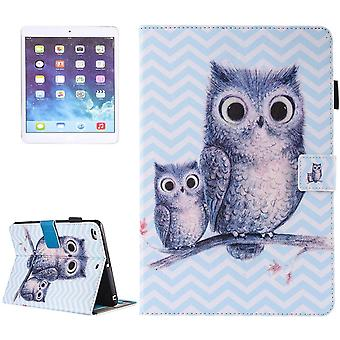 For iPad 2018,2017 9.7in Wallet Case,Owly Durable Protective Leather Cover