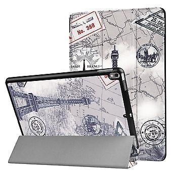 Voor iPad Pro 10,5 inch behuizing, stijlvolle Eiffeltoren Patroon Duurzame Beschermhoes