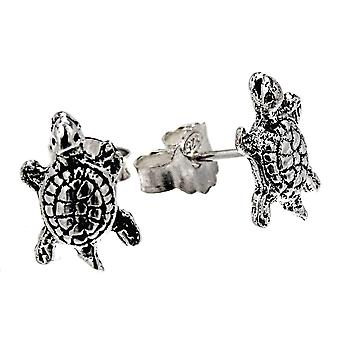Studs 54 tortue - argent